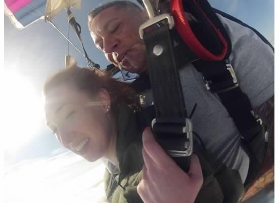 open chute