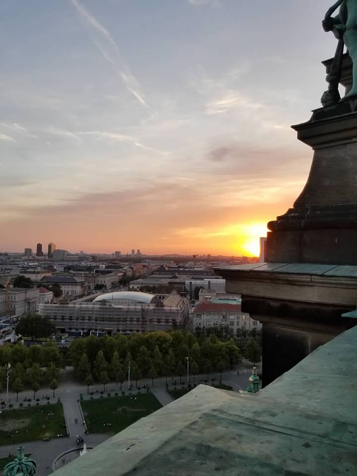 sunset berlin