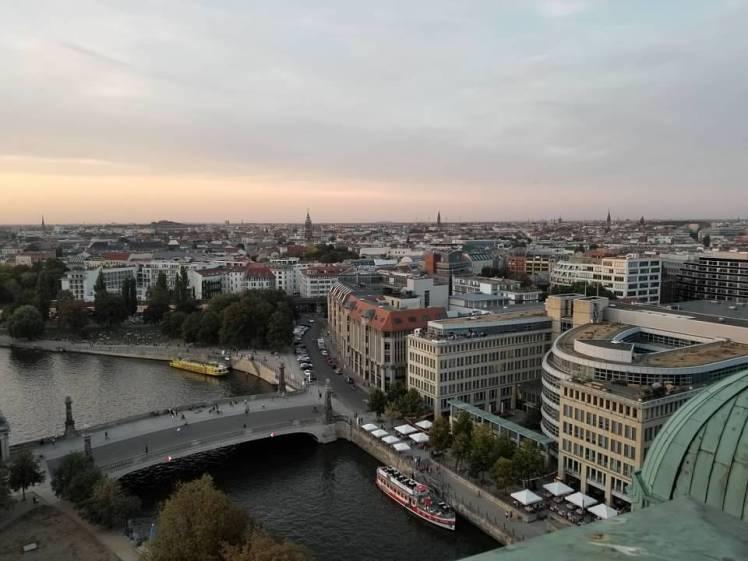 Reichstag sunset